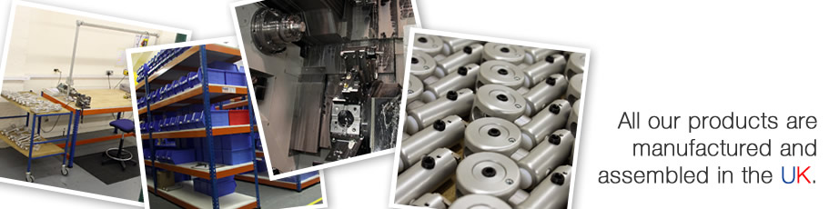 All our products are manufactured and assembled in the UK.